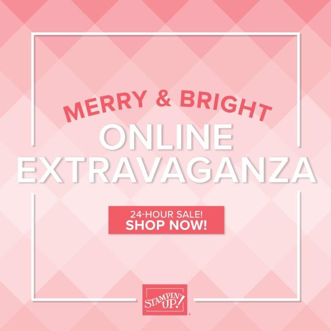 Stampin Up Online Extravaganza Sale