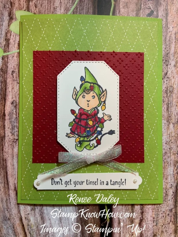 Don't Stop Believin' Elf Christmas Card