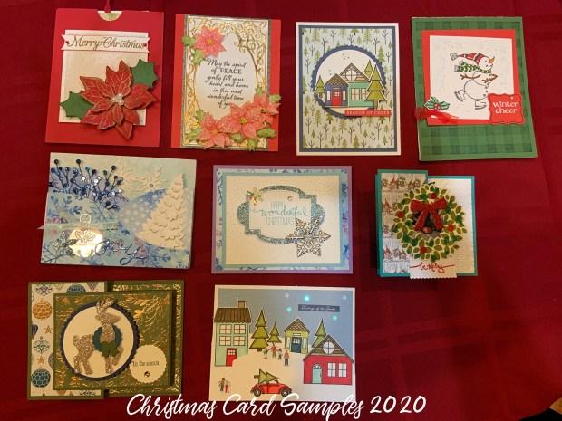 Christmas Card Samples 2020