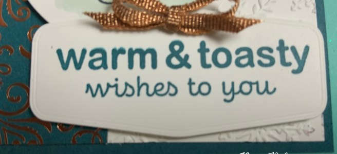 Warm and Toasty Winter Card