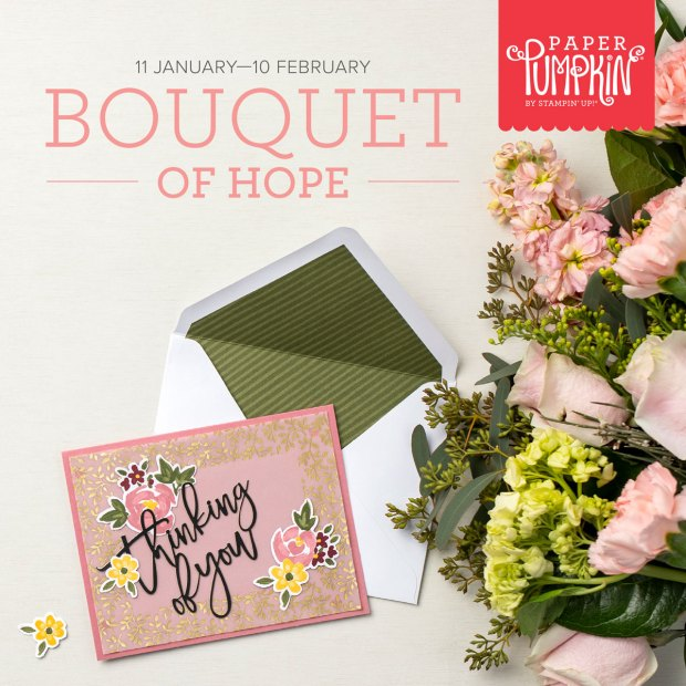 February 2021 Paper Pumpkin Kit: Bouquet of Hope