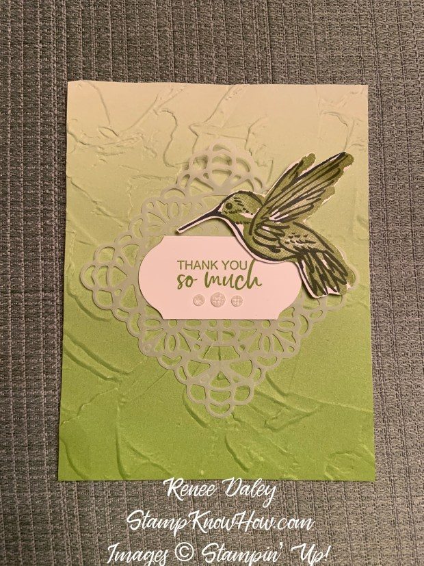 A Touch of Ink Thank You Card