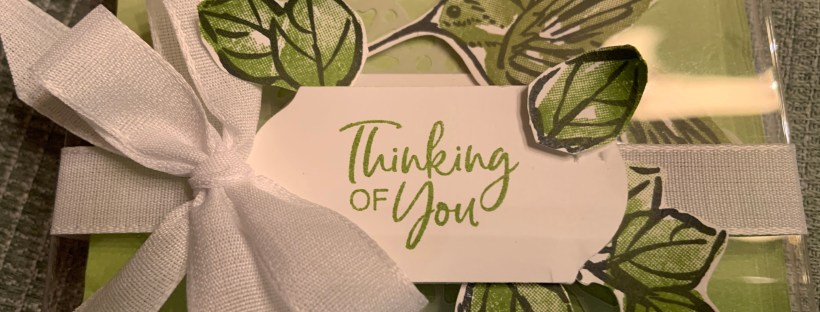 Close up image of A Touch of Ink Thank You Card Gift Box