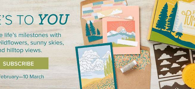 Stampin Up March 2021 Paper pumpkin kit