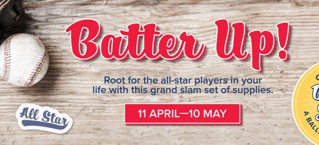 May 2021 Paper Pumpkin Kit:Batter Up