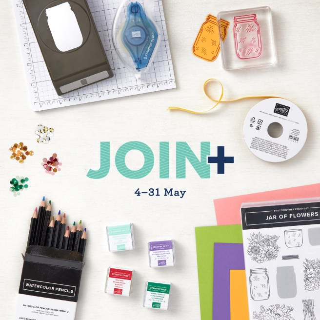 Stampin' Up Join+ Promotion