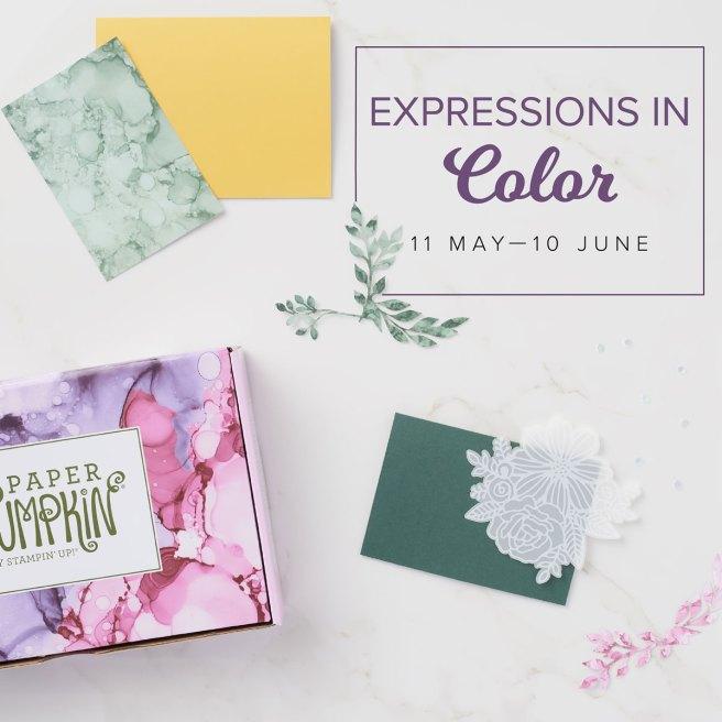 June 2021 Paper Pumpkin: Expressions in Color