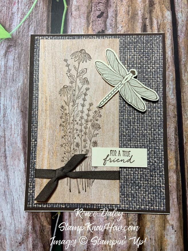 Dragonfly Garden Friend Card