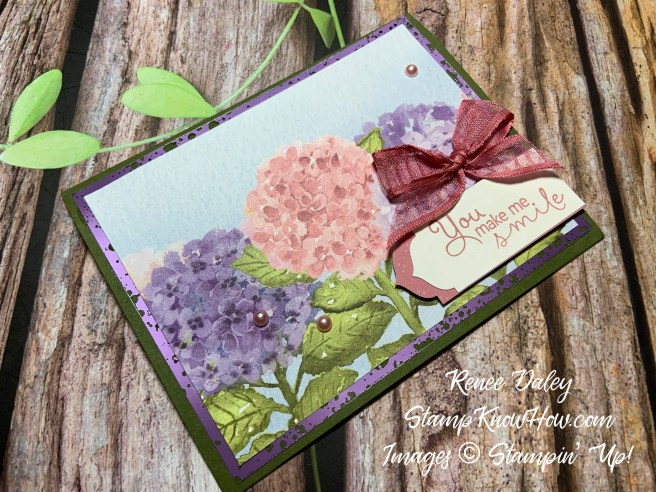 Image of Hydrangea Hill Suite Collection Hello Card