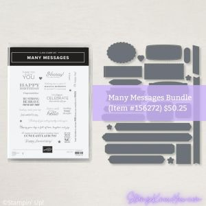 Stampin' Up Many Messages Bundle