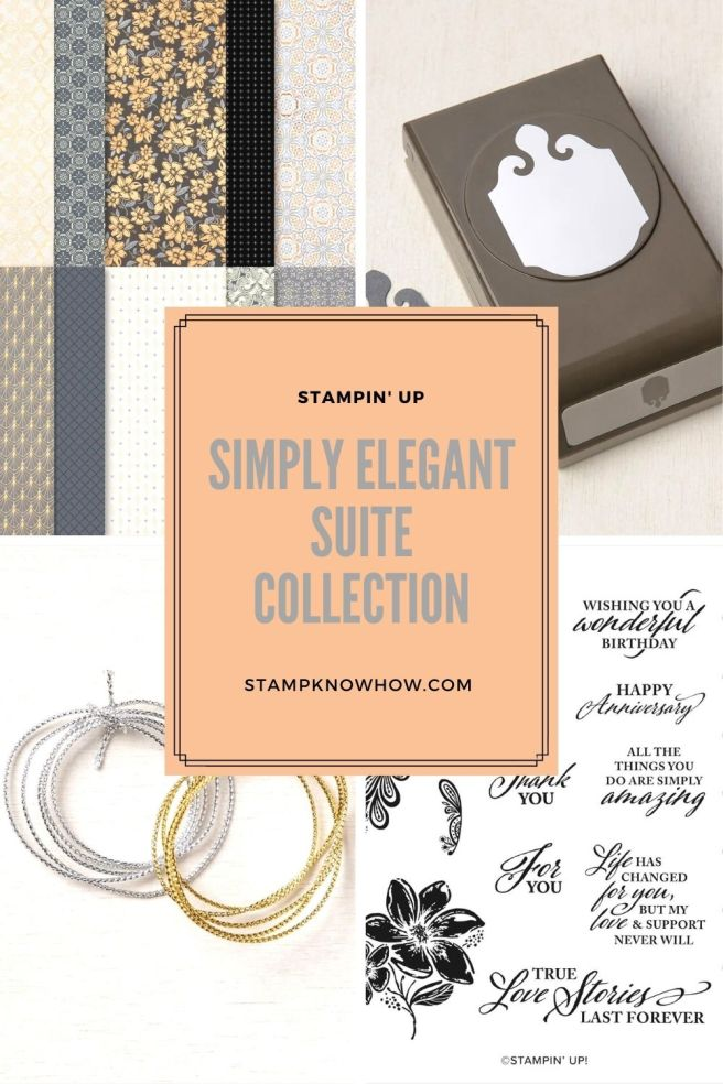 Simply Elegant Suite Collection by Stampin' Up