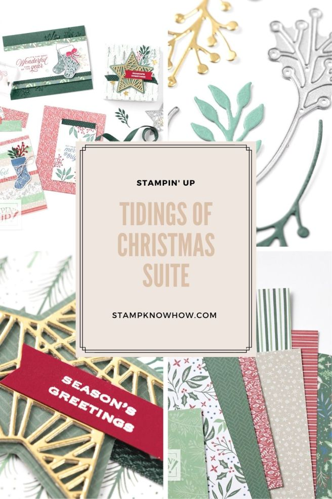 Tidings of Christmas Suite by Stampin' Up