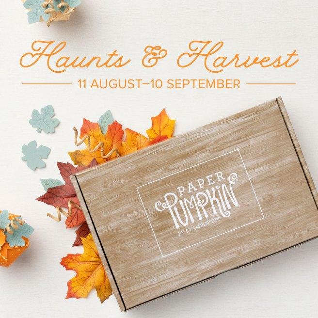 September 2021 Paper Pumpkin: Haunts & Harvest Kit