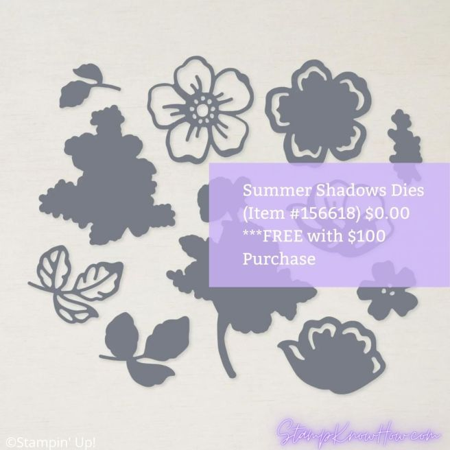 Summer Shadows Dies by Stampin' Up