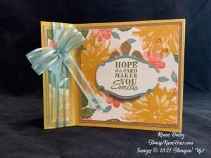 Delicate Dahlias Birthday Card