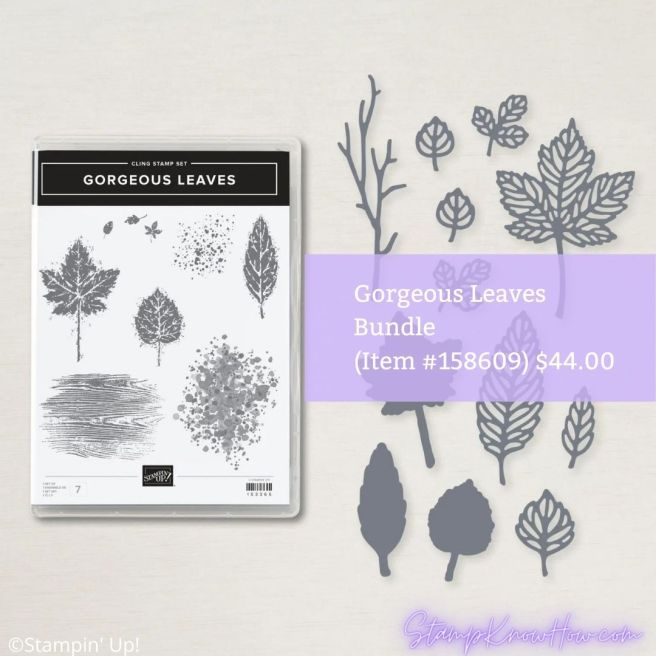 Gorgeous Leaves Bundle from Stampin' Up!