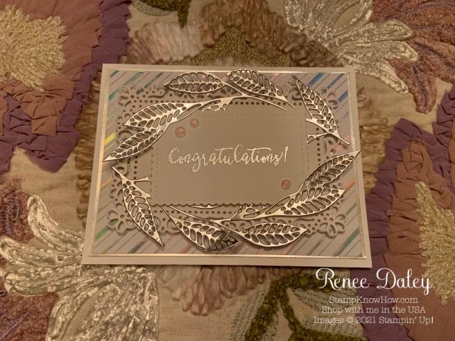 Artistically Inked Wedding Card
