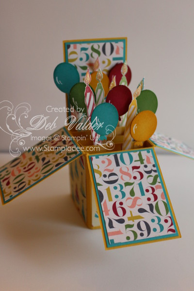 REVISED NEW Z Fold CARD IN A Box With Deb Valder Deb