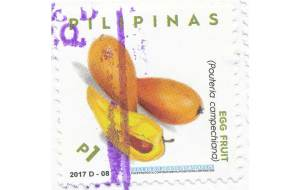 egg fruit stamp 2017 Philippines