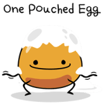One Pouched Egg
