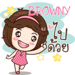 BROWNY gamsai a little girl e