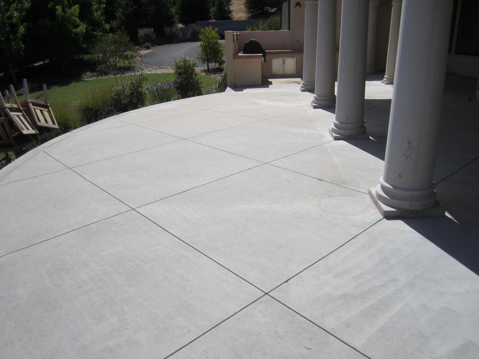 stained concrete concrete contractor