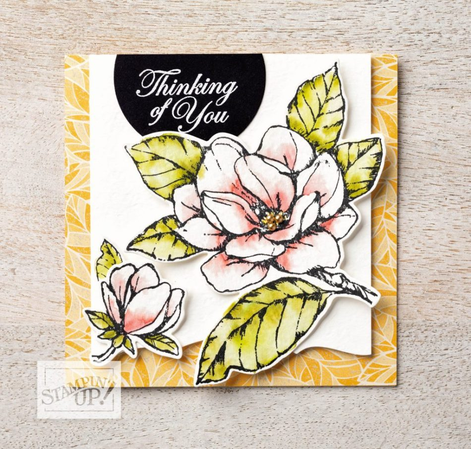 Magnolia Lane by Stampin' Up!, stamp me crafty, handmade cards, new suite, new class