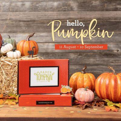 paper pumpkin, craft box, fall, pumpkin, stamp me crafty, stampin' up!