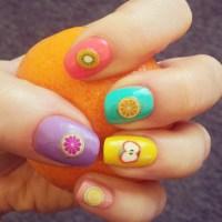 Tutti Frutti Nails | Stamp Nail Art