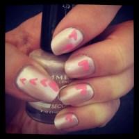 Love Heart Nail Art | Stamp Nail Art