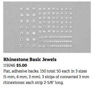 Rhinestone Basic Jewels