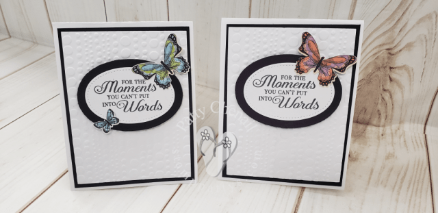 Sometimes a greeting is the best focal point for a project.  That is what I did with this one.  Using the saying from the Lasting Lilly (Sale-a-bration) stamp set, I created this beautiful but simple card.