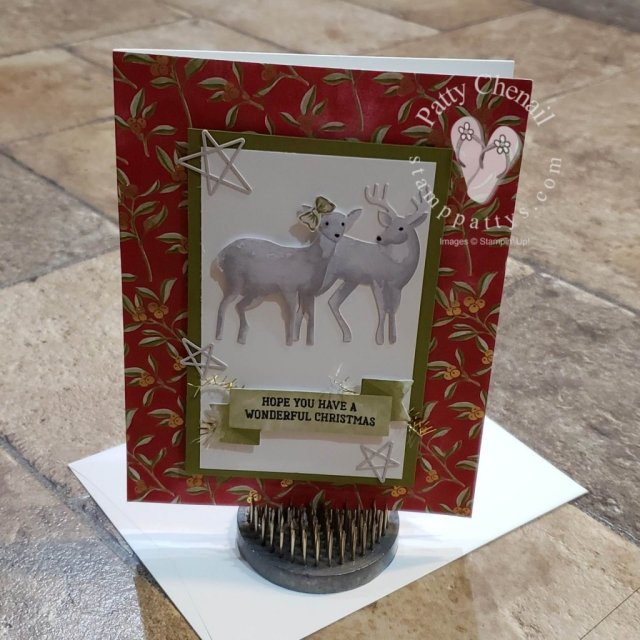 The Most Wonderful Time Product Medley exclusively from Stampin' Up!  Includes almost everything you need for creating holiday cards and projects!
