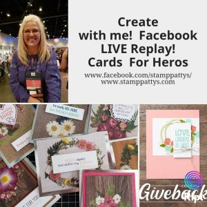 Give Back Thursday – Replay of Stamp-Patty's Facebook live on May 21, 2020