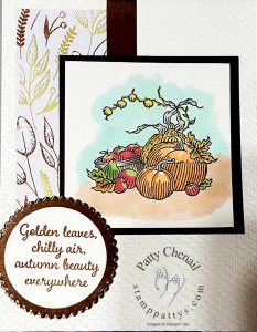 Autumn project for the Stamper's Dozen Holiday Sneak Peek Blog Hop!