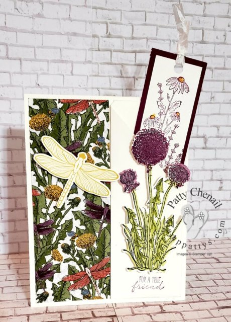 Garden Wishes part of the Dandy Garden product suite in the Stampin' Up January to June catalog.