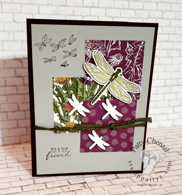 Dragonfly Garden part of the Dandy Garden product suite from Stampin' Up!'s January to June catalog. Get yours now!