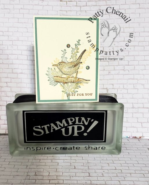 Etched in Nature. A brand new stamp set available in the 2021-2022 Annual Stampin' Up! catalog beginning May 5, 2021.