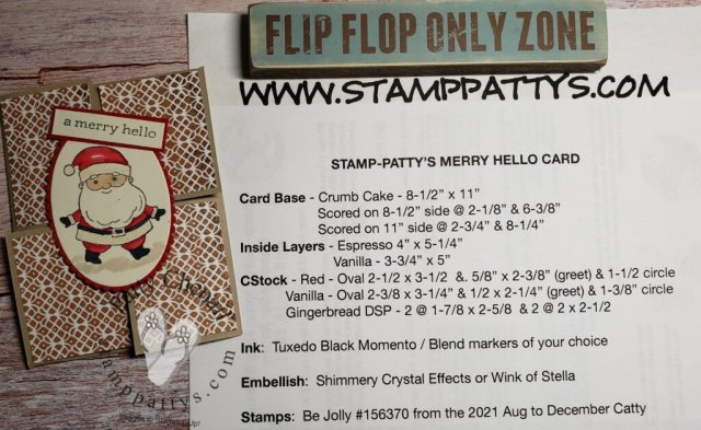 Sneak Peek at the Be Jolly stamp set that will be available in the Stampin' Up! August to December 2021 mini catalog.  Be sure to check out my how to video for full instructions and dimensions!