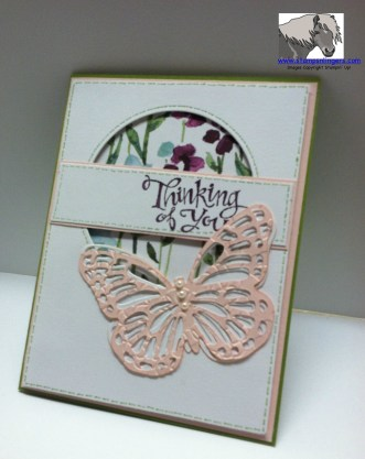 Thinking of You Butterfly Outside Card 2 watermarked
