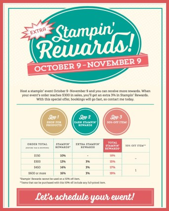 Stampin' Rewards Flyer