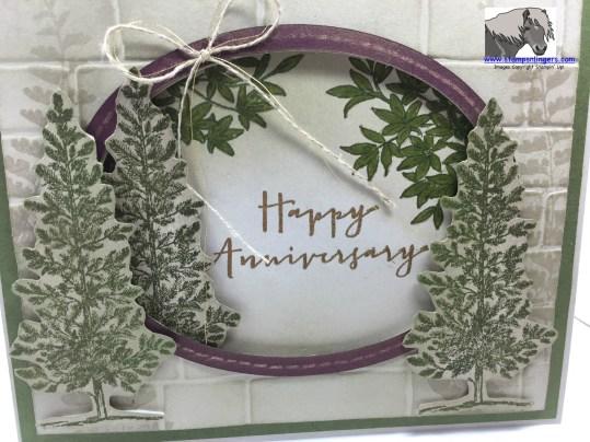 Woodsy Anniversary outside closeup watermarked