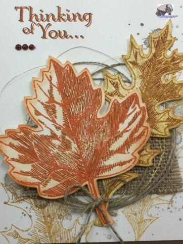Vintage Leaves Sorrow Closeup watermarked