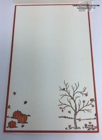 Happy Scenes Vintage Leaves - Stamps-N-Lingers