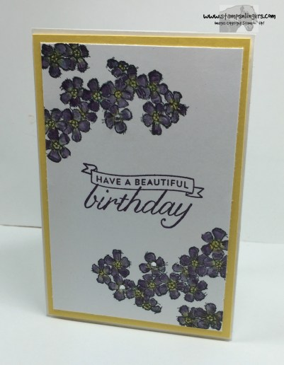 Birthday Blossoms 3 - Stamps-N-Lingers