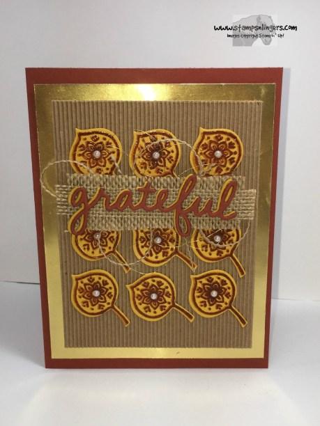 Lighthearted Leaves Grateful 3 - Stamps-N-Lingers