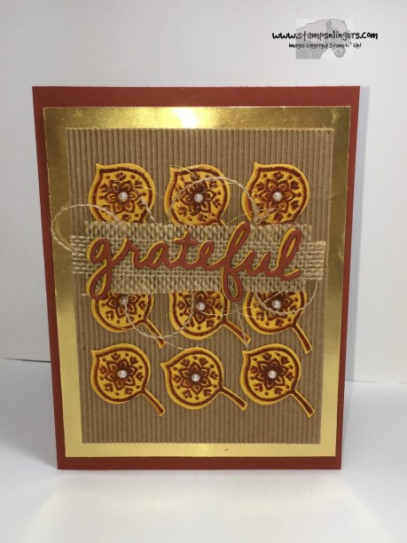Lighthearted Leaves Grateful 3 - Stamps-N-Lingers