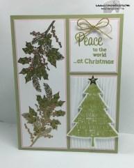 Peaceful Wreath Peaceful Pines 3 - Stamps-N-Lingers