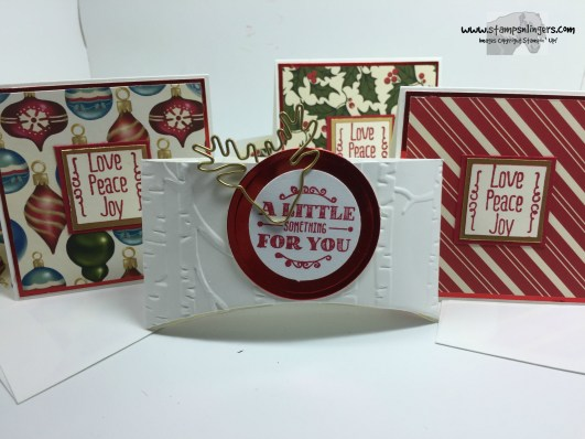 Woodland Note Card Holder 3 - Stamps-N-Lingers