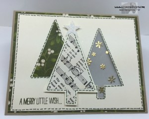 Festival of Trees Fun Fold 2 - Stamps-N-Lingers